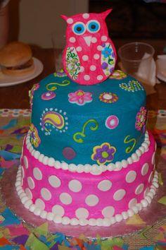 A kid's birthday cake on Taras Tweets