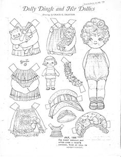 Miss Missy Paper Dolls: June 2015 Colouring Pages, Coloring Pages For Kids, Coloring Books, Missing Missy, Paper Art, Paper Crafts, Paper Dolls Clothing, Paper Dolls Printable, Label Paper