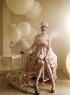 Ballons Whimsy Girl