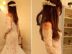 casamento constance zahn vestido noiva wanda borges renda vintage guirlanda muguet