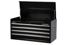 40 In 4-Drawer Black Tool Chest