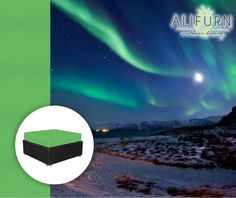 Need ideas for furniture fabric and upholstering? Take inspiration from the Aurora Borealis, one of the greatest shows on earth… Get the look with our Cedarbrook Proof Lite Pappgallo fabric… #OutdoorFurniture #FabFabrics  www.alifurn.co.za Aurora Borealis, Get The Look, Fabrics, Earth, Movie Posters, Inspiration, Furniture, Ideas, Northern Lights