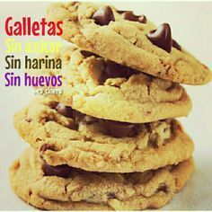 Sweet Recipes, Real Food Recipes, Snack Recipes, Dessert Recipes, Yummy Food, Snacks, Easy Chocolate Chip Cookies, Chocolate Desserts, Chocolate Chips