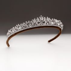 Crystal, pearl and coloured wedding bridal tiaras for brides   Andrew Prince Jewellery