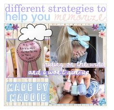 """""""♡ ; different strategies to help you memorize"""" by preppy-tips-xoxo ❤ liked on Polyvore featuring art, bedroom, kitchen and maddiemaddstips"""