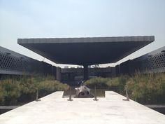 @ museum of anthropology in Mexico, D.F. By Arq. Pedro Ramirez Vazquez