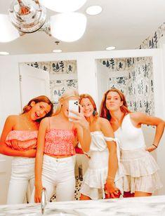 Cute Preppy Outfits, Preppy Girl, Cute Summer Outfits, Preppy Style, Trendy Outfits, Cute Friend Pictures, Friend Photos, Bff Goals, Best Friend Goals