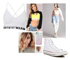 """""""Untitled #1339"""" by danifashionblog on Polyvore featuring Forever 21, Converse and Casetify"""
