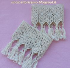 Uncinetto&Ricamo: FRANGE MACRAME'