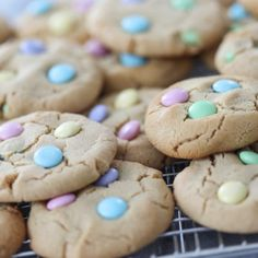 Soft Peanut Butter Cookies for Spring   Inspired by Charm