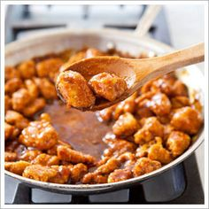 General Tso's Chicken makeover...made this today for my kids...it was outstanding!!! Definite keeper!