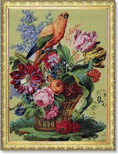 1030 TT Papagei 68x92 cm
