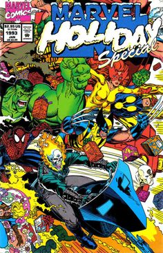 Cover for Marvel Holiday Special (Marvel, 1992 series) #[nn]