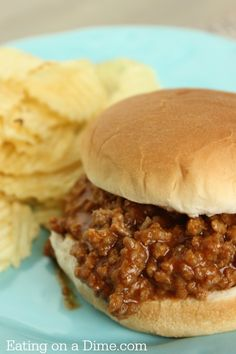 This Sloppy Joes is so easy to make and taste way better than sloppy joes in a can. I promise anyone can make this easy recipe!