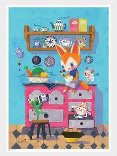 illustration art poster https://www.facebook.com/yoonju.kang.90