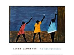 Amazon.com: (18x24) Jacob Lawrence The Migration Series No 58 1941 ...