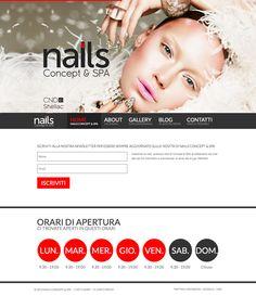 NAILS Concept & SPA (Web & Social Media) - PUNTO SERVICE