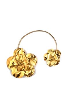 Vintage YSL flower cuff necklace!!  So School of Flaunt!!