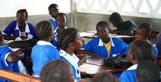 https://flic.kr/p/7dbiaq | School Children, Ginak Gambia