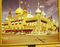 A picture from inside the corn palace I took.  This was a long time ago.