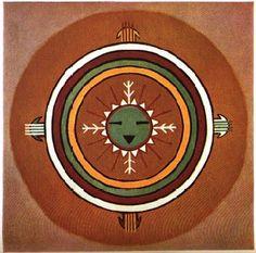 Native american art projects for elementary students navajo sunnyside mandala native american sand art freerunsca Images