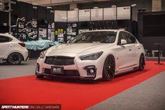 The Great Tokyo Auto Salon Mishmash - Speedhunters Best Luxury Sports Car, Cool Sports Cars, Luxury Cars, Supercars, Subaru, Mazda, Q50 Red Sport, Nissan Infiniti, 2015 Infiniti Q50