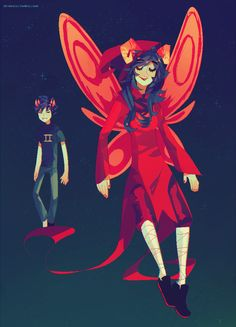 Sollux and Aradia (005898 by =chienoir on deviantART)