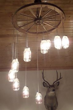 Learn How to define room themes with: Rustic cabin Décor Lighting ...