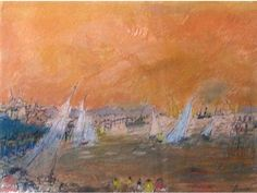 View Ciel orangé by Jean Fusaro on artnet. Browse upcoming and past auction lots by Jean Fusaro. Orange, Ciel, Past, Auction, Artists, Painting, Past Tense, Painting Art, Paintings