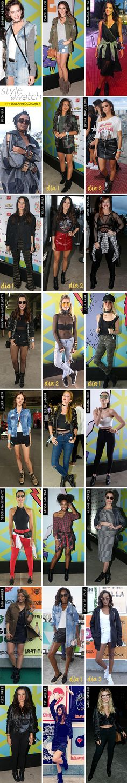 Famosas no Lollapalooza 2017 + meu look! - Garotas Estúpidas - Garotas Estúpidas