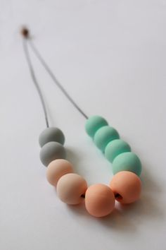pastel mint necklace   China Fashion Wholesale Jewelry Factory at www.lushlee.com!