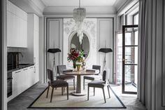 Изысканный интерьер в стиле парижских апартаментов в Москве