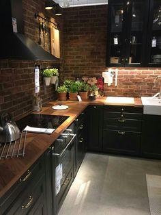 20 Impressive Kitchen Cabinet Design Ideas For Your Inspiration Modern Kitchen Cabinets Cabinet Design Ideas impressive Inspiration Kitchen Farmhouse Kitchen Decor, Home Decor Kitchen, Diy Kitchen, Kitchen Interior, Kitchen Black, Kitchen Wood, Kitchen Ideas, Kitchen Backsplash, Kitchen Countertops