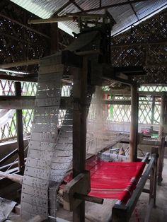 Jacquard loom, India