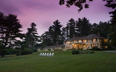 The Manor on Golden Pond, An Elegant Bed and Breakfast Spa Country Inn, Holderness, New Hampshire