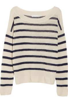 Kain Billie striped linen-blend sweater