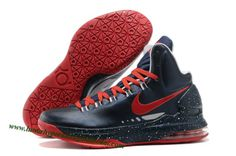 Nike Zoom KD 5(V) Kevin Durant Shoes Blue Red