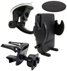 Amazon.com: Windshield Dashboard Air Vent Car Mount Holder for Samsung Galaxy S4 S3/SIII Note 3 iPhone 5 Motorola Moto X and Other Phones: C...