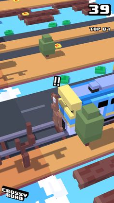Look at my fail on Crossy Road