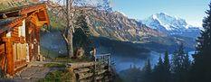 Weidhaus - berghut in zwitserland met prachtig uitzicht
