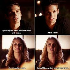 I loveeee Daniel Sharman as Kol ♡ BUT I WANT NATE BACK oh yeah and you guys better not have killed Kol off for good