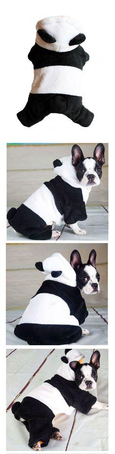 Déguisement Panda pour chien et chat http://www.lolpetshop.com/deguisements-chiens-et-chats/41-deguisement-panda-pour-chien-et-chat.html
