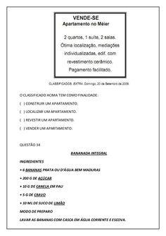 Modelo de atividades para o 3º ano