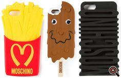 Moschino Gürtel & Handyhülle (iphone case) – Designer Pop Art Accessoires