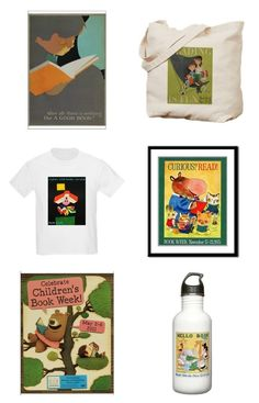 You can get any Children's Book Week poster on everything from posters to water bottles at Cafe Press.