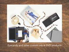 Custom dvd, usb and comnination products