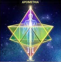 A  apometria  - do prefixo grego  apo  ( além de ) e do radical  metria  ( medida ) - é uma prática de intenção cura consciencial...