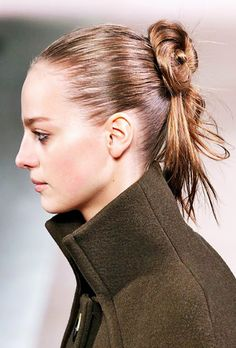 7 Ways to Wear Your Hair Up (That Don't Involve Ponytails) via @ByrdieBeauty
