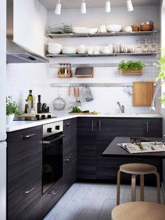 Aménager une cuisine dans moins de 6 m2, c'est possible !