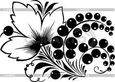 Motif Design, Design Elements, Rose Stencil, Fabric Paint Designs, Mehndi Art Designs, Russian Folk Art, Matryoshka Doll, Creative Crafts, Art Drawings